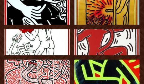 El arte de Keith Haring. Iconografía sexual