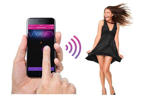 Juguetes sexuales a distancia: vibradores de control remoto por bluetooth